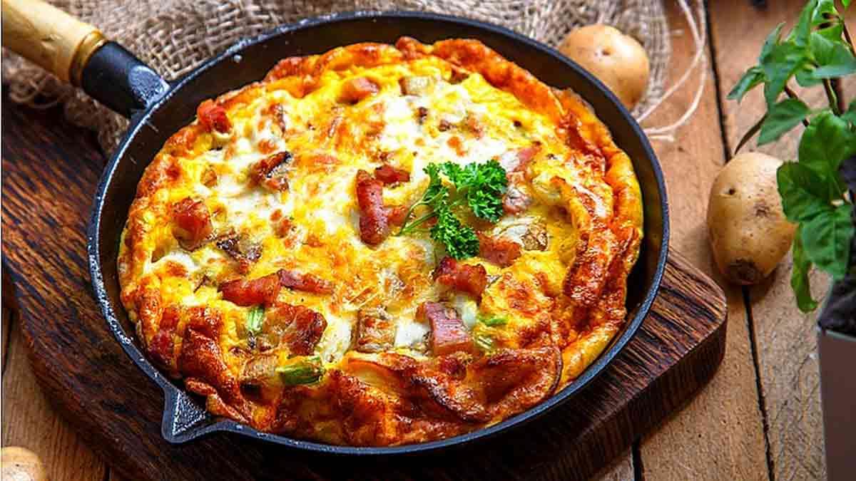 Irrésistible omelette savoyarde