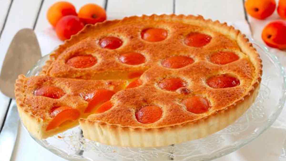 Magnifique tarte aux abricots