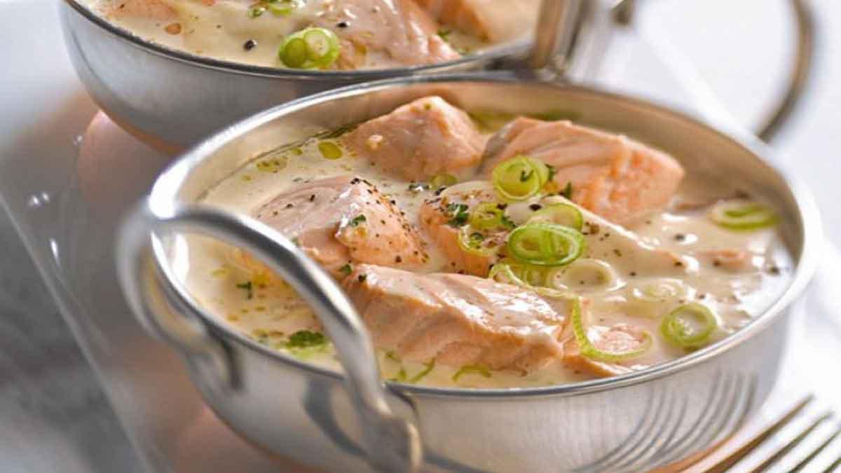 Meilleure blanquette de saumon