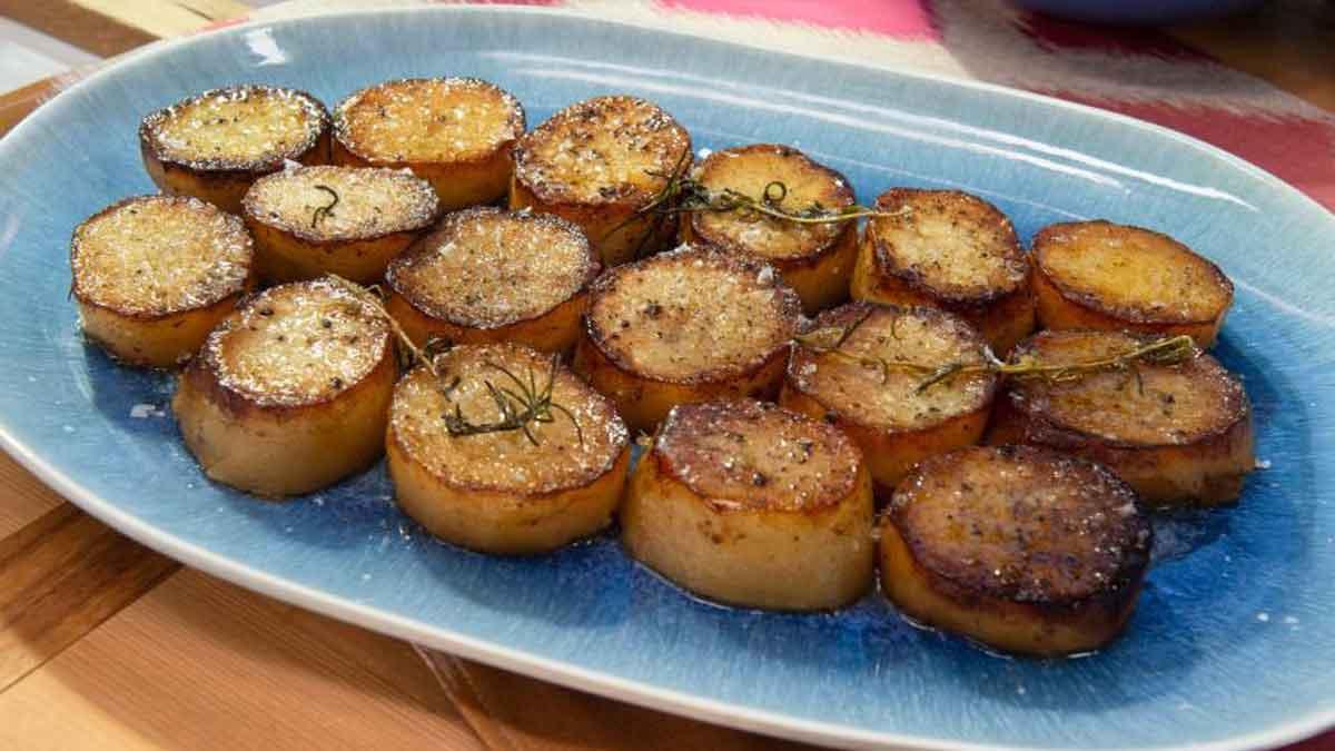 Sautées de pommes de terre fondantes au four