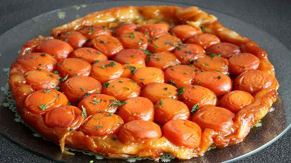 Sublimissime tarte tatin aux abricots