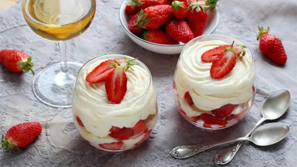Tiramisu aux fraises du Périgord