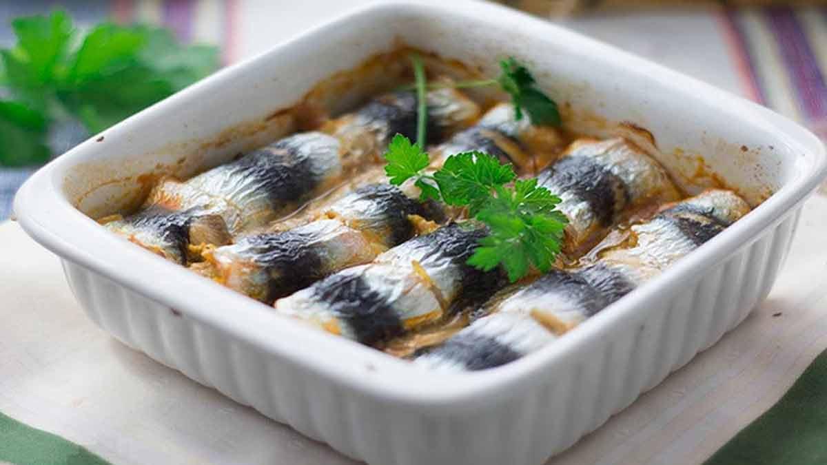 roulés de filets de sardines et cumin