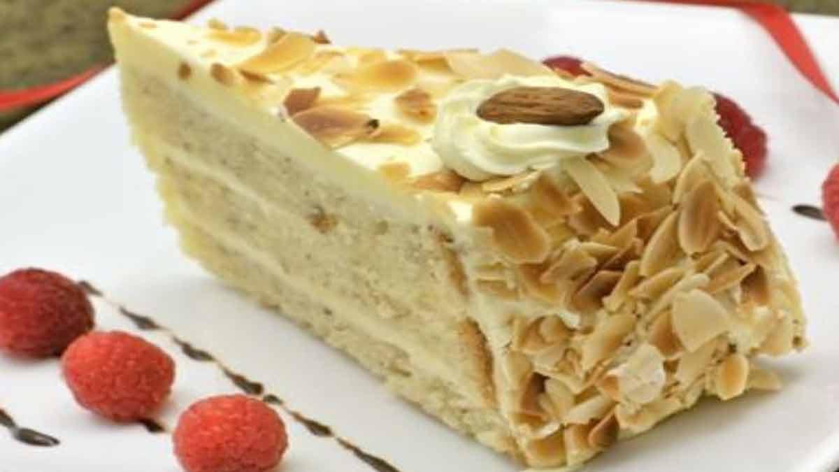 gâteau nature moelleux à la crème pralinée