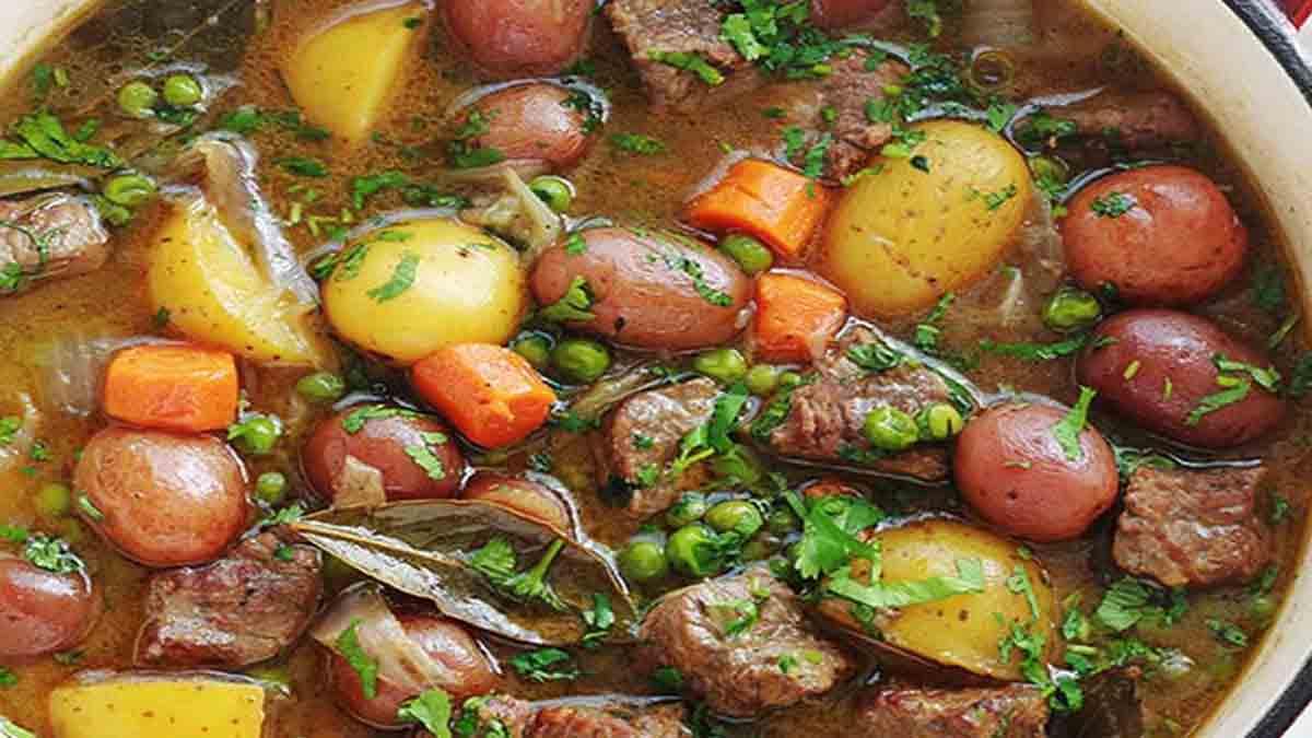 ragout de bœuf aux légumes