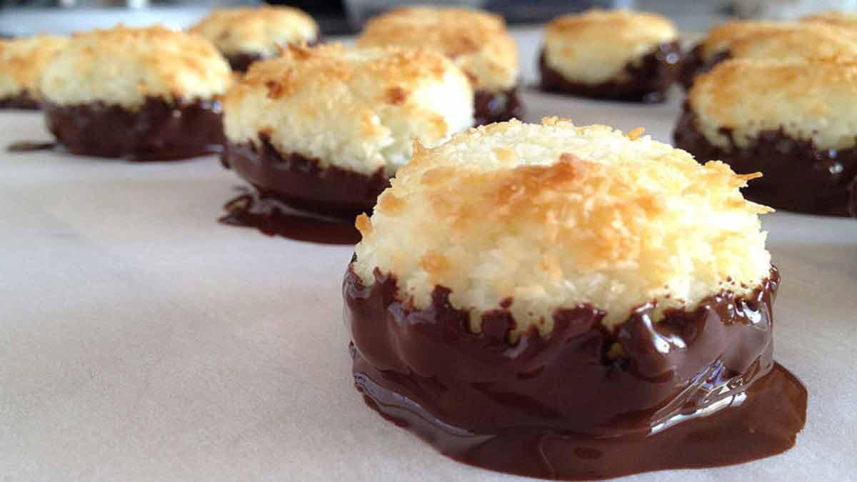 rochers coco au chocolat