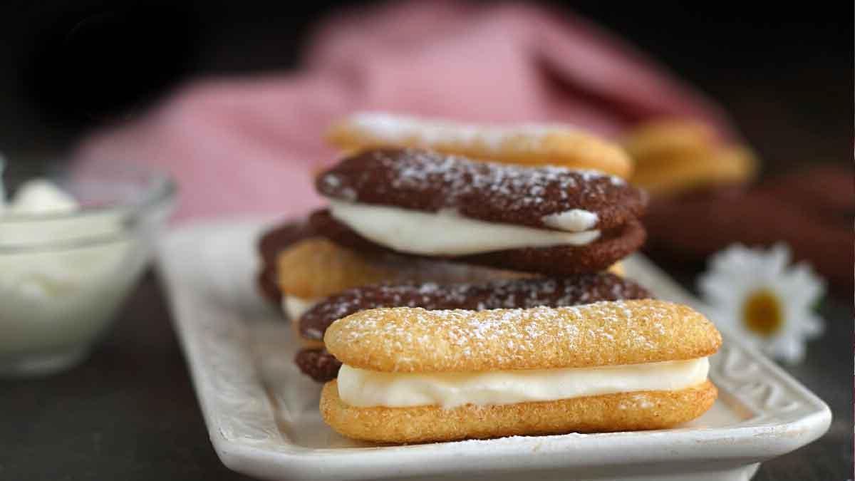biscuits pavesini à la crème paradiso