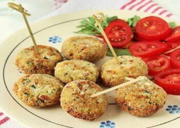 Boulettes de pommes de terre aux courgettes