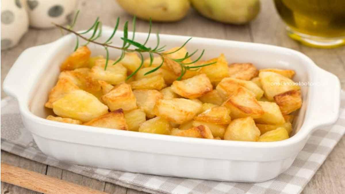 Délicieuses pommes de terre au four