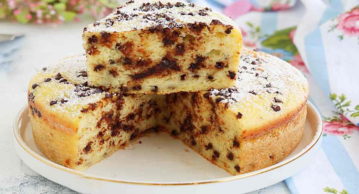 Gâteau à la ricotta et au chocolat