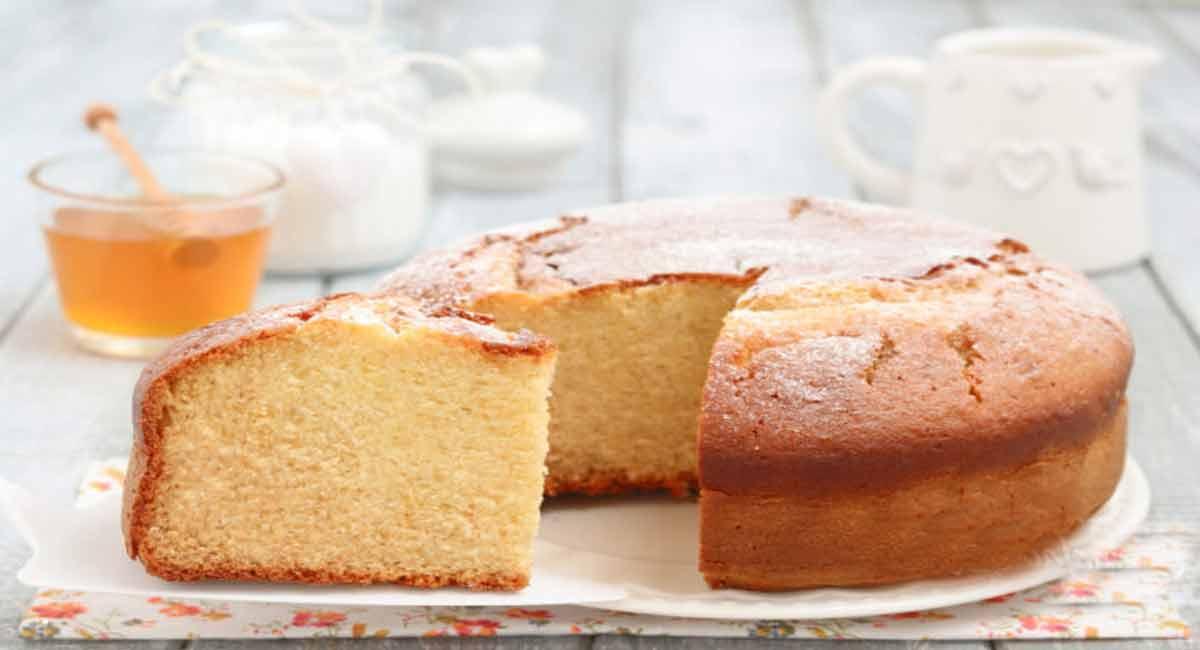 Gâteau au yaourt et miel sans beurre