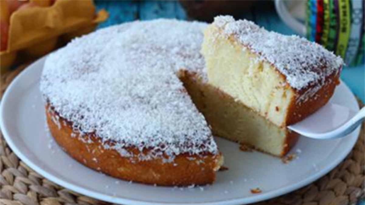 Gâteau exotique à la noix de coco