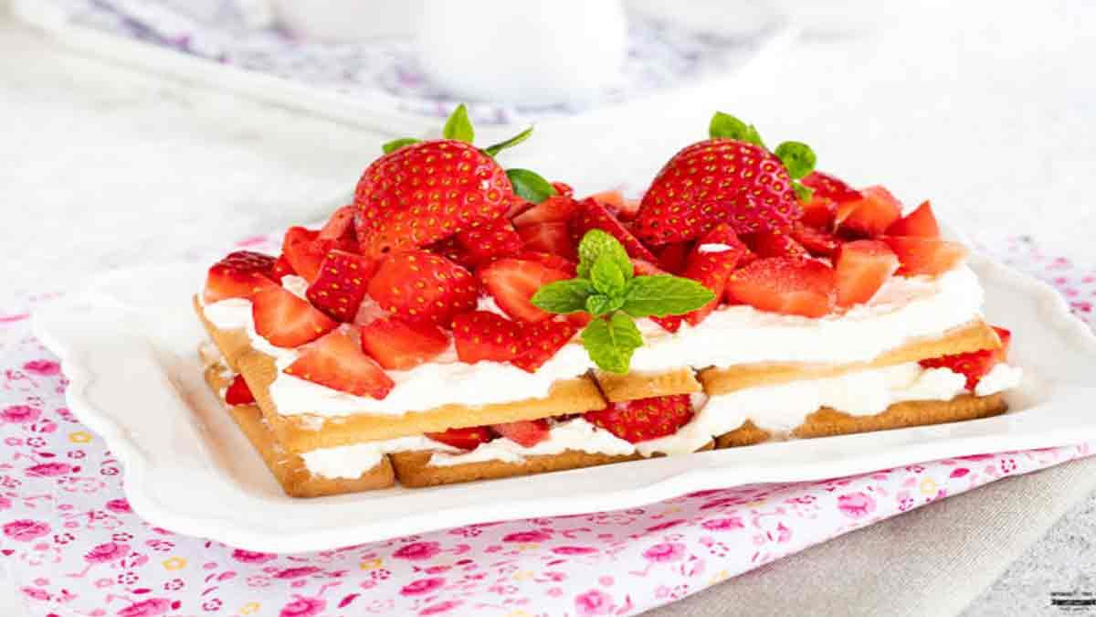 Magnifique brique de fraise