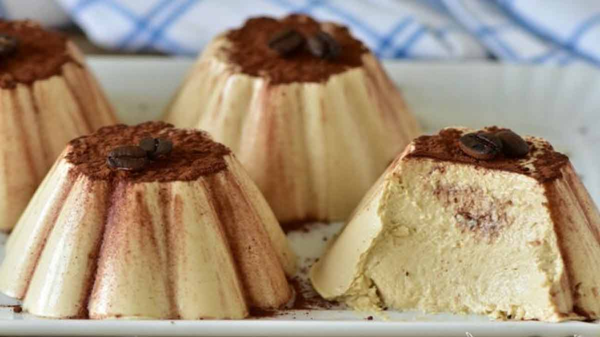 Mini gâteaux au café sans cuisson