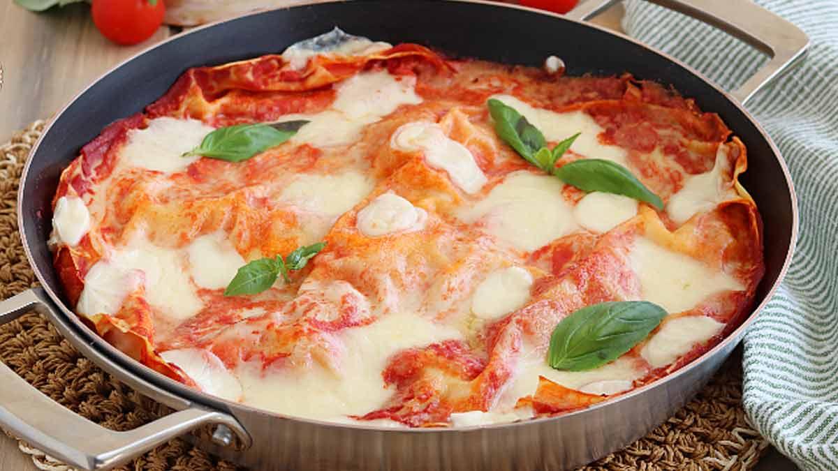 Savoureuses lasagnes en poêle
