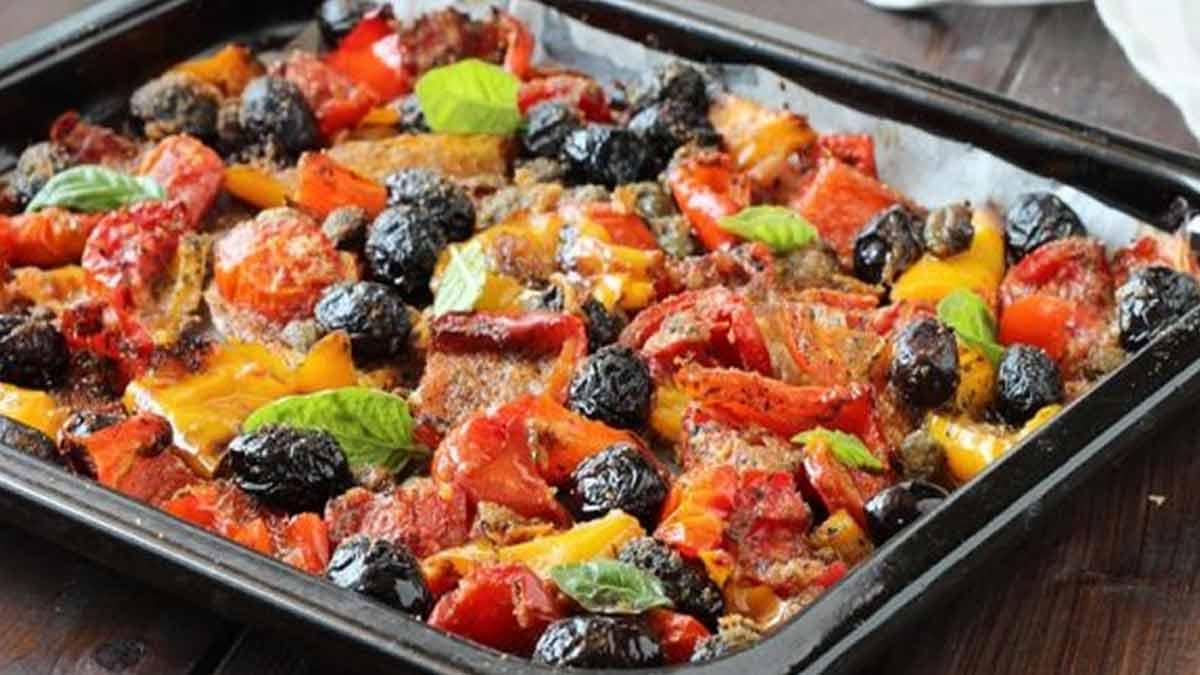 Savoureux poivrons gratinés siciliens