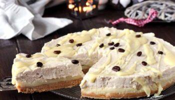 Sublime gâteau au chocolat blanc et café