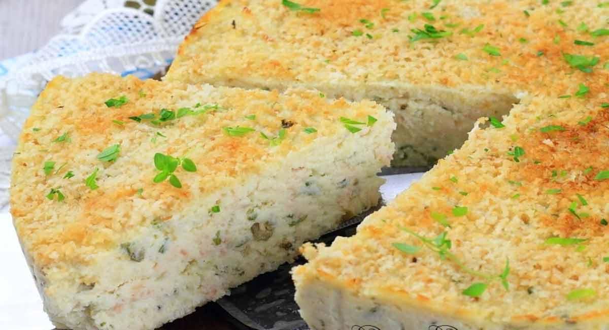 Tarte aux pommes de terre avec thon et ricotta