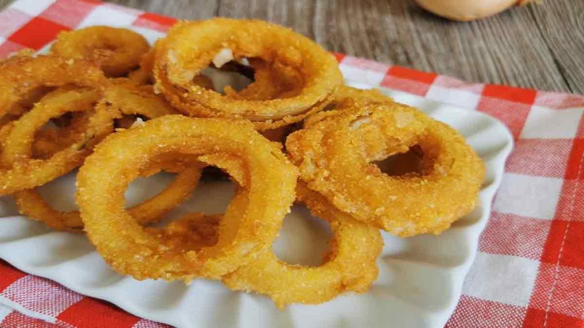 anneaux d'oignons