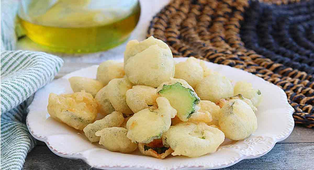 beignets de courgettes croustillants