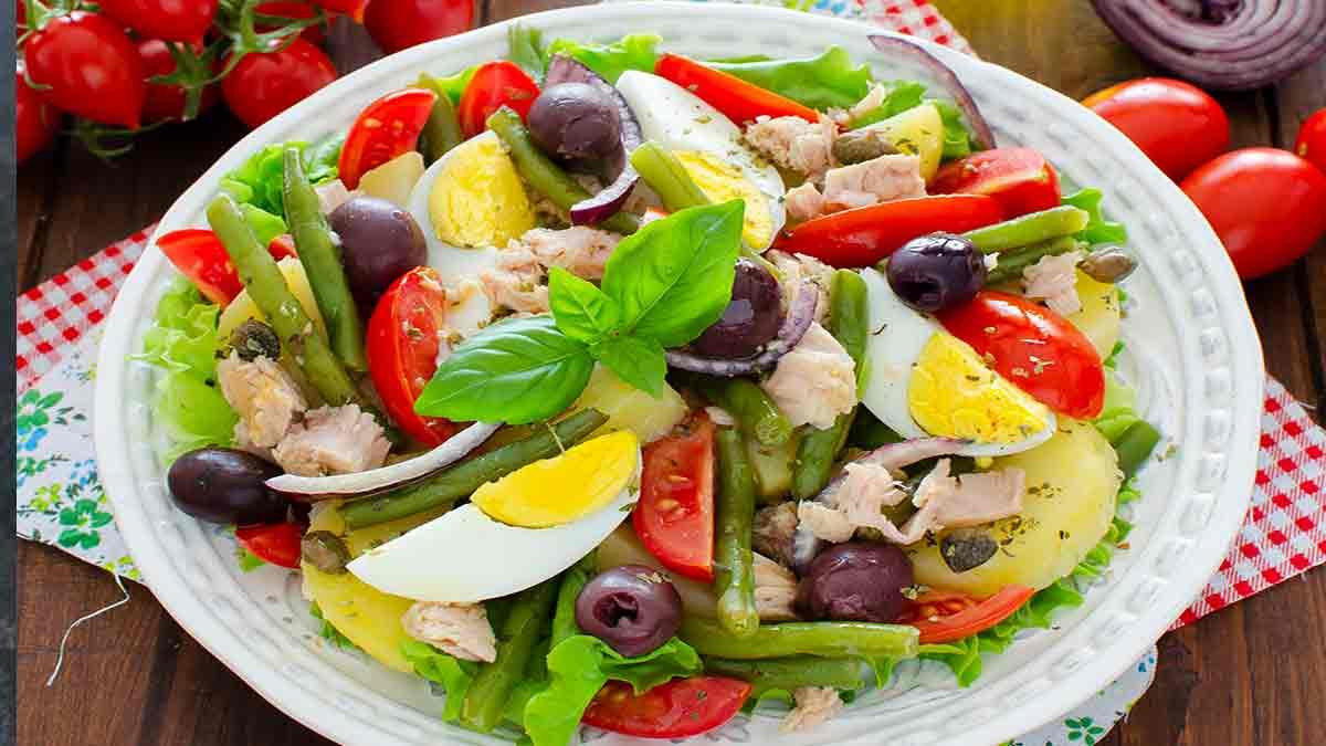fameuse salade niçoise
