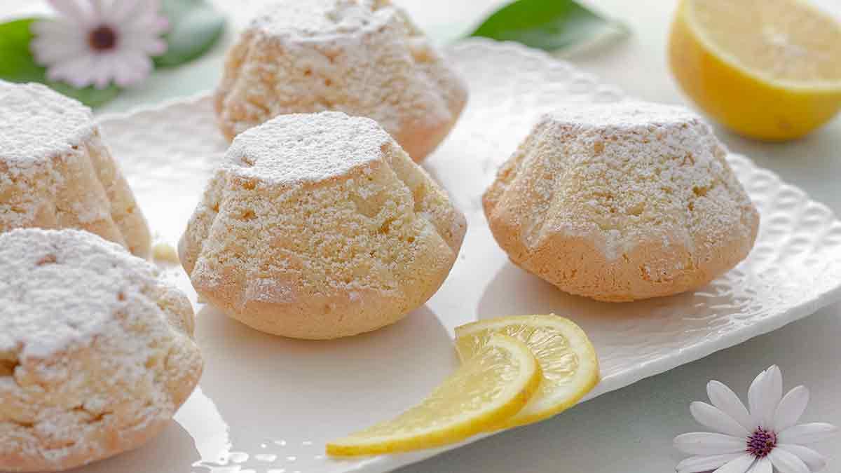 gâteau à la crème et au citron