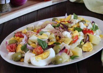 salade froide d'été