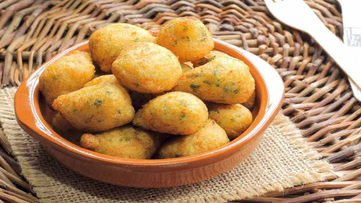 beignets de morue au persil