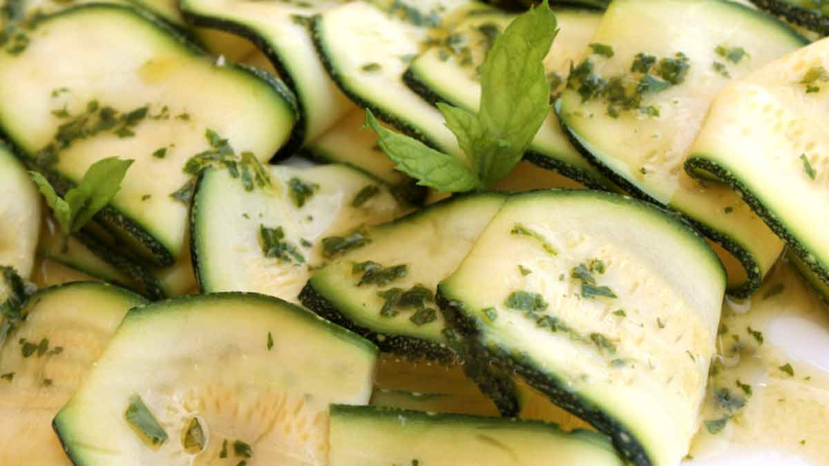 Croquantes courgettes