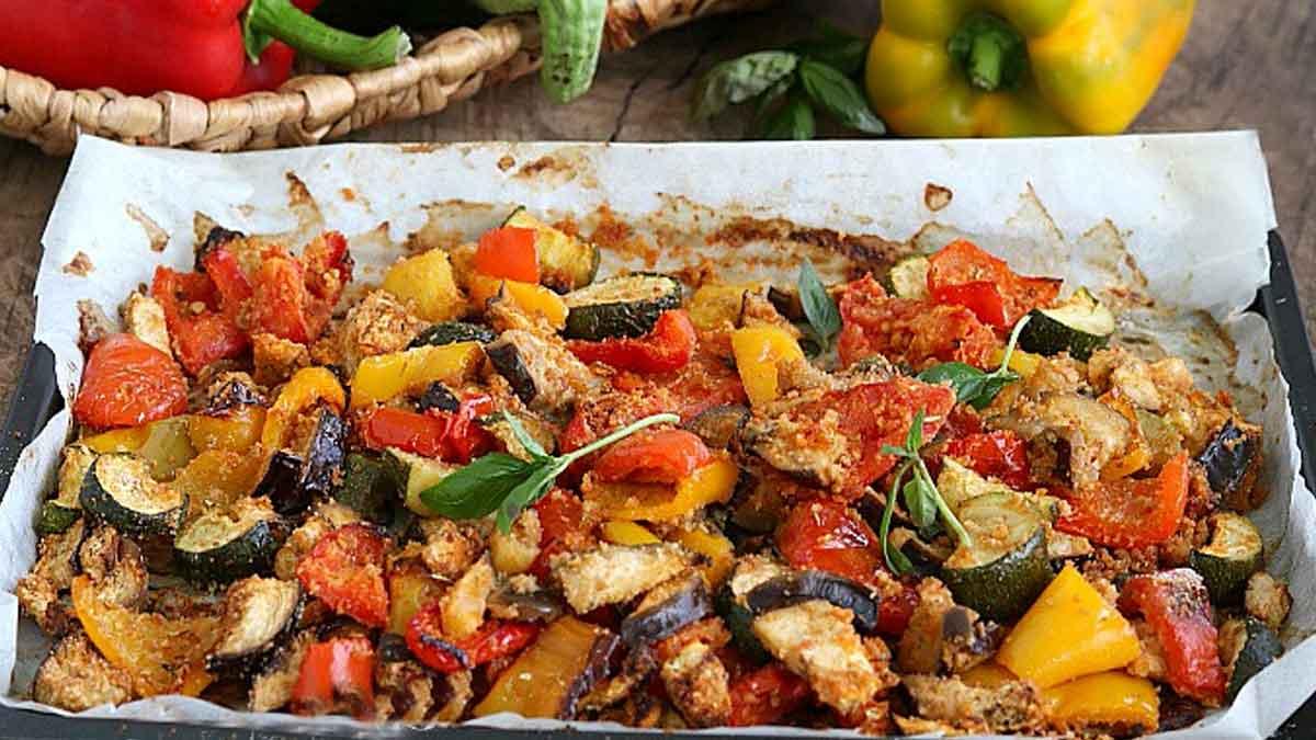 Croustillants légumes au four