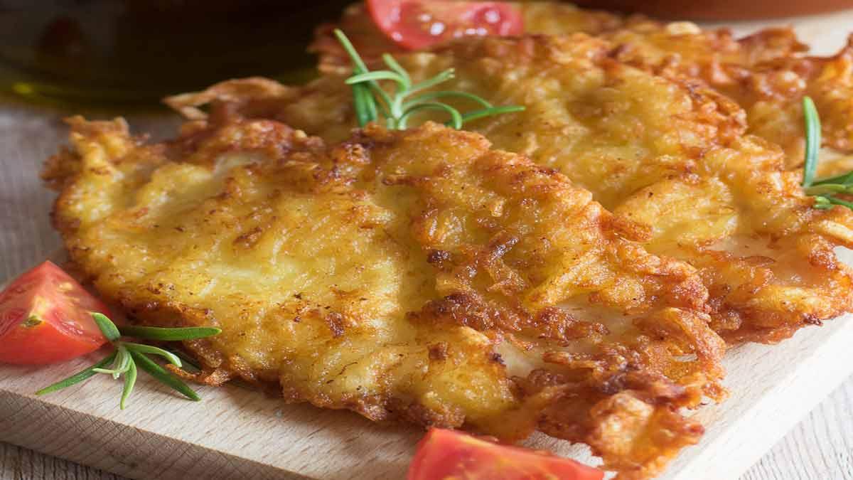 escalopes de poulet et pommes de terre
