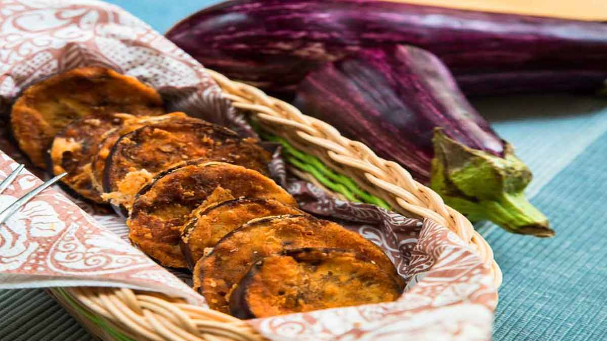 aubergines et fromages au four