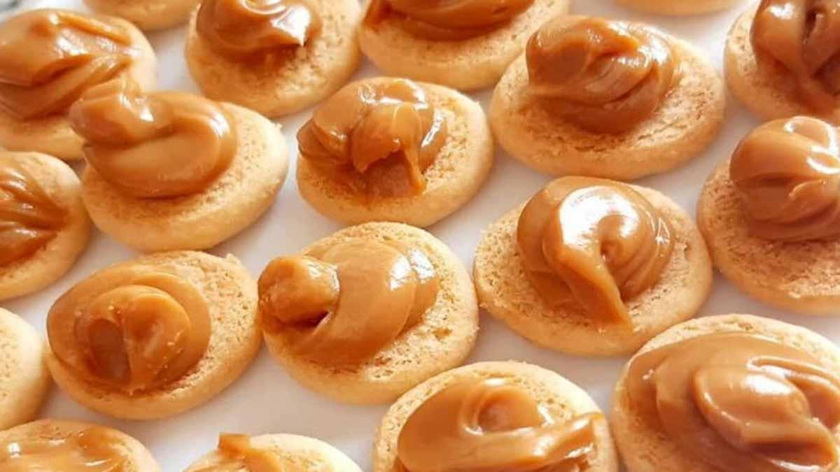 biscuits à la crème au caramel