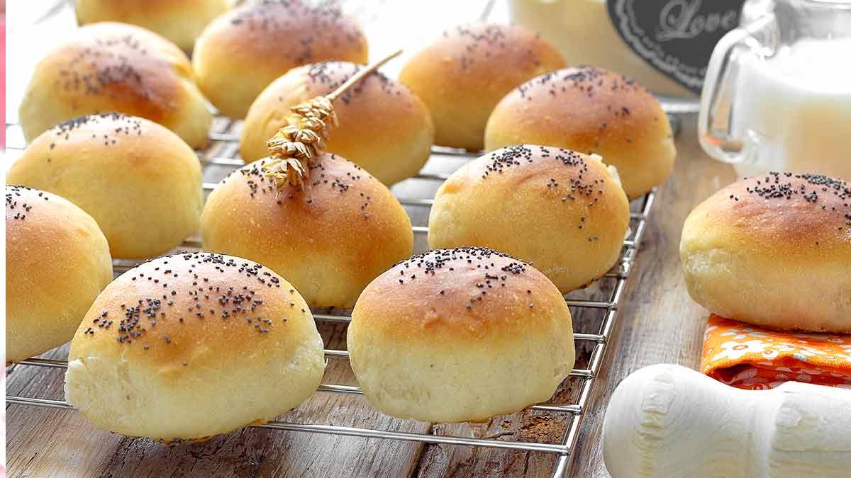 bouchées de pain au lait