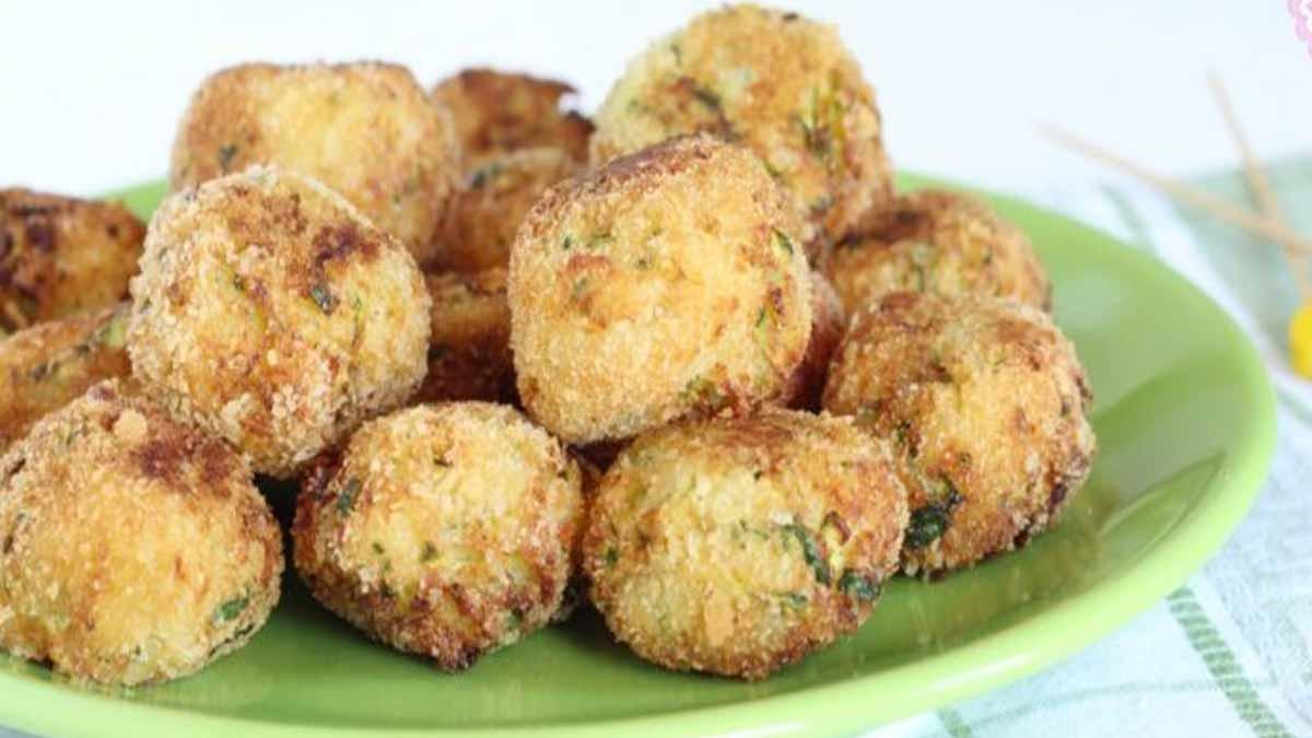 boulettes de courgettes et pommes de terre