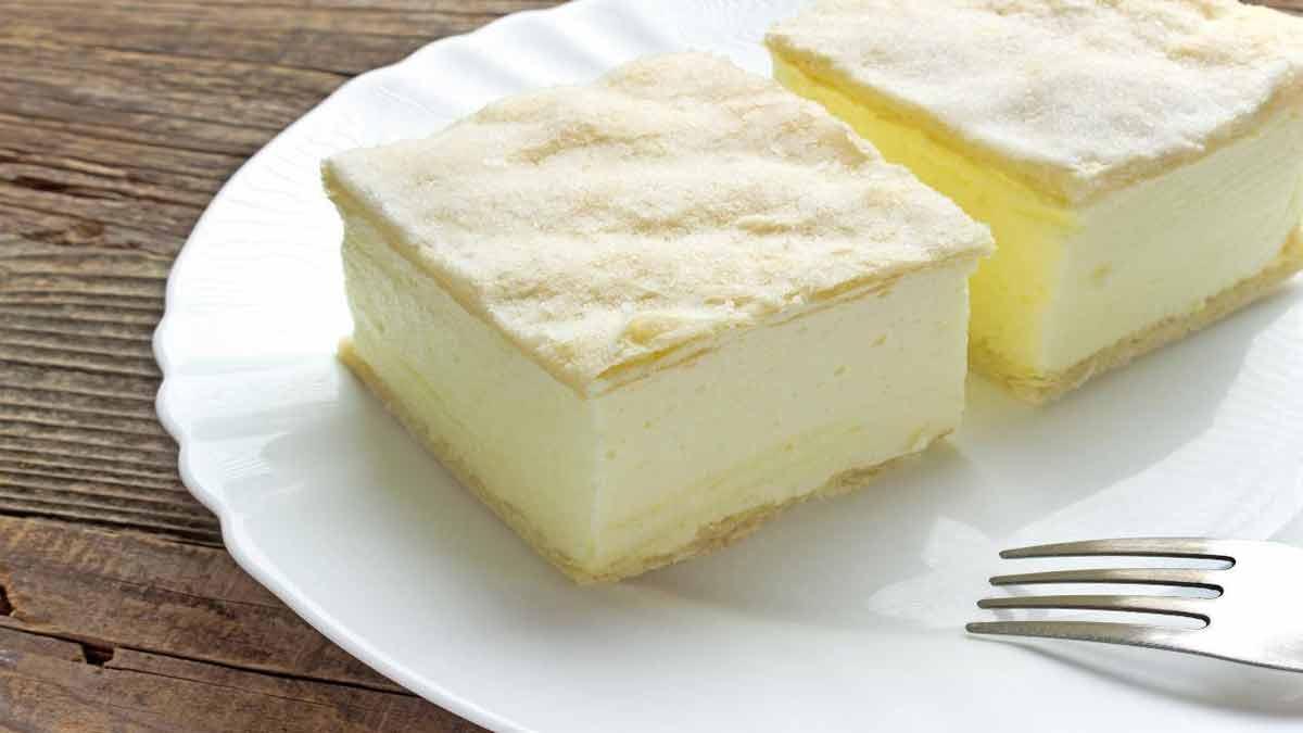 carrés soufflés à la crème