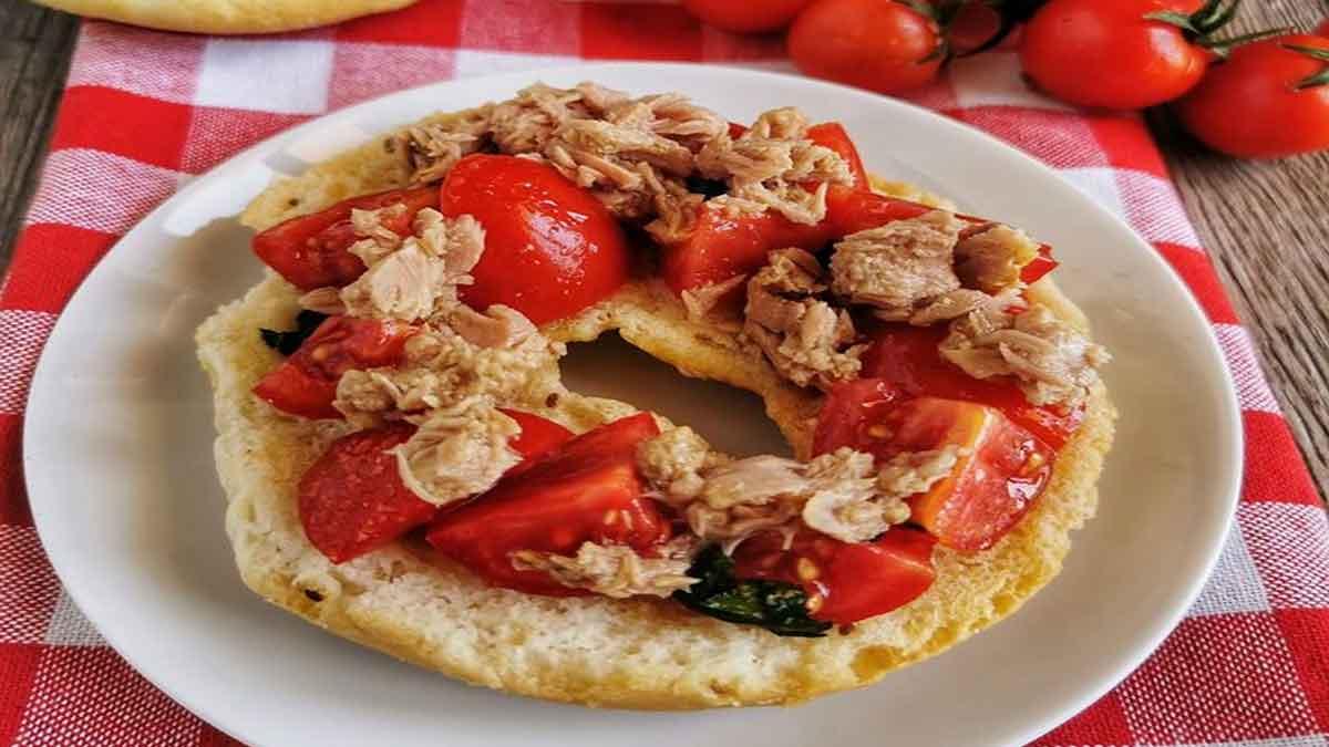 friselles aux thon et tomates