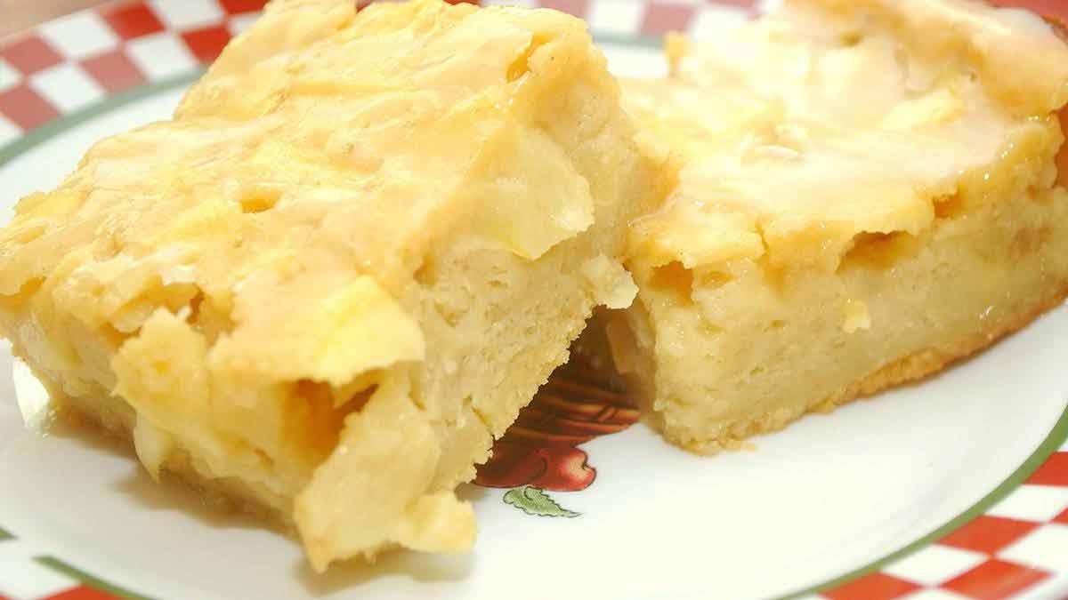 gâteau au pudding-pommes
