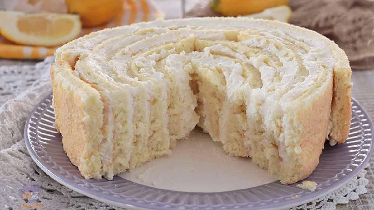 gâteau tourbillon au citron