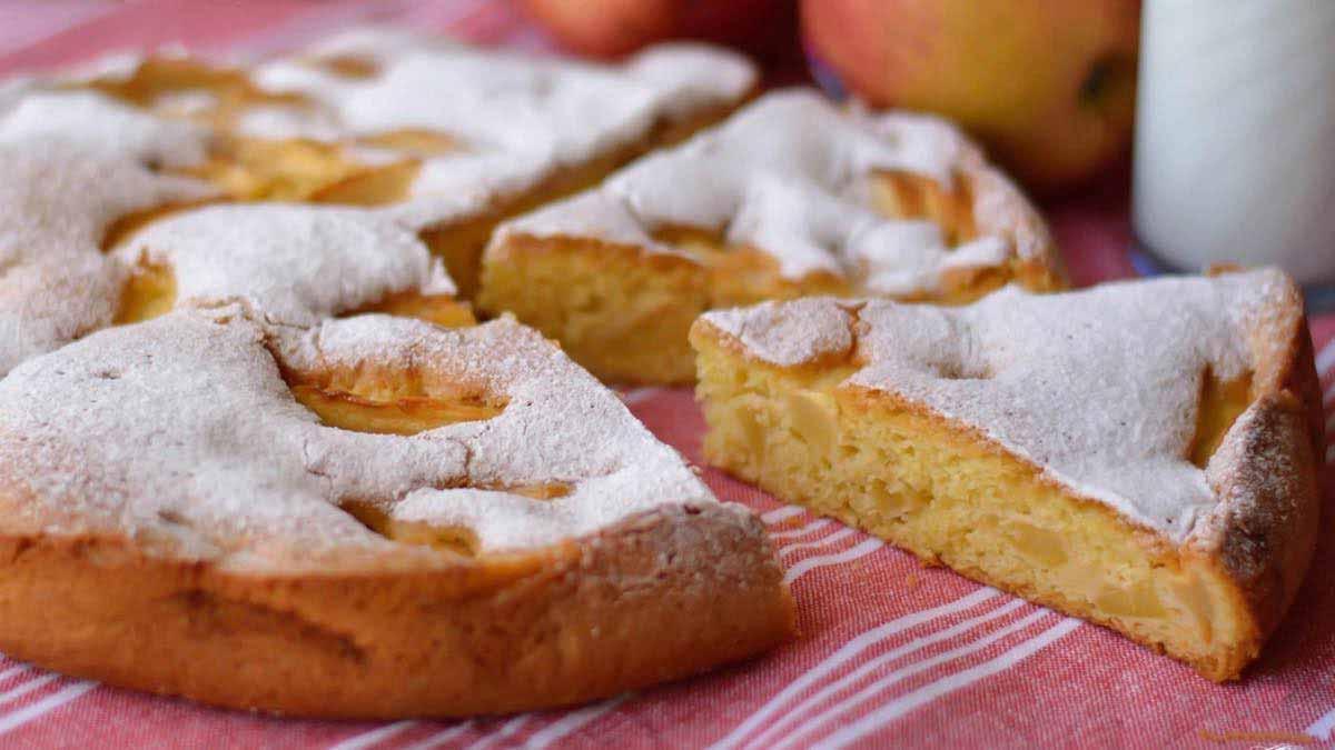 moelleux aux pommes de Cyril Lignac