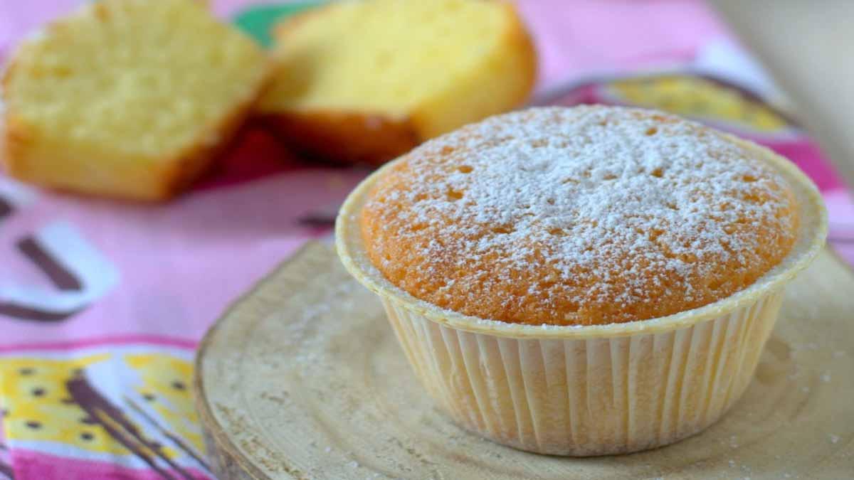 muffins nuageux à la vanille