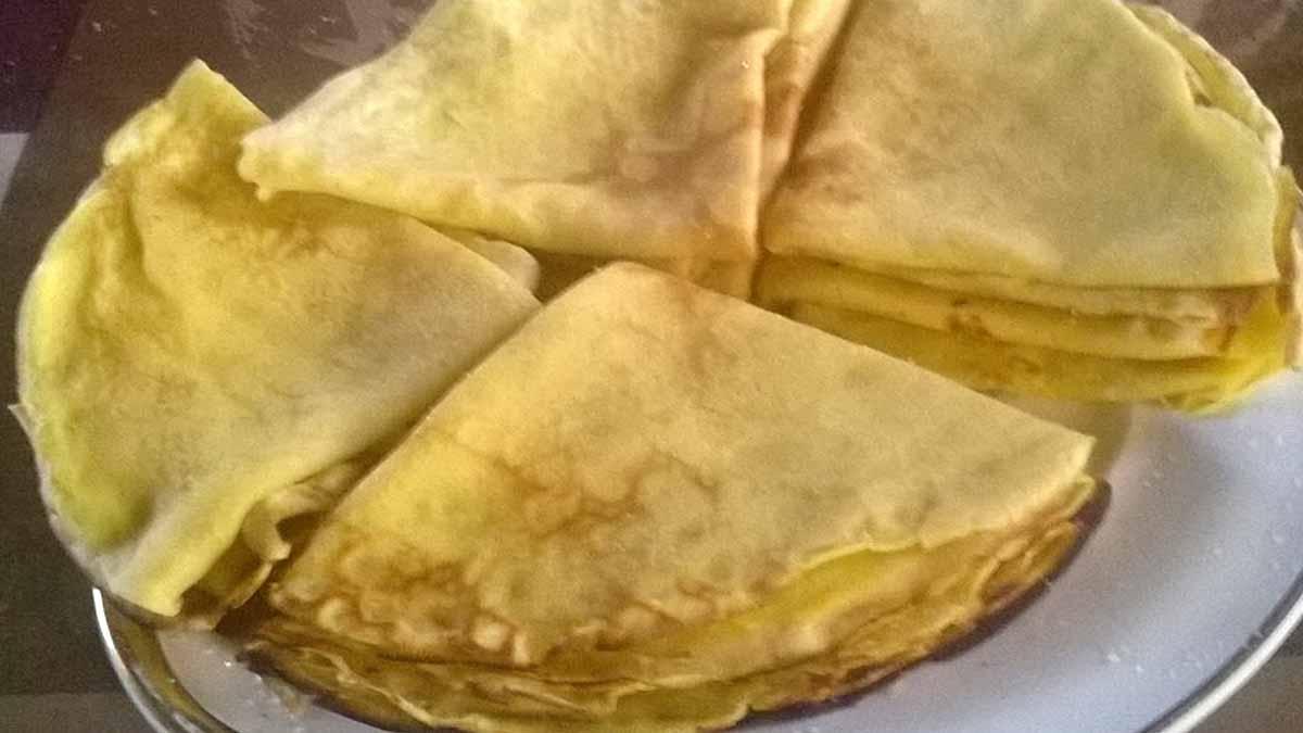 pâte à crêpes sans repos
