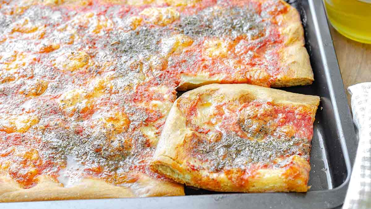 pizza simple sans levure