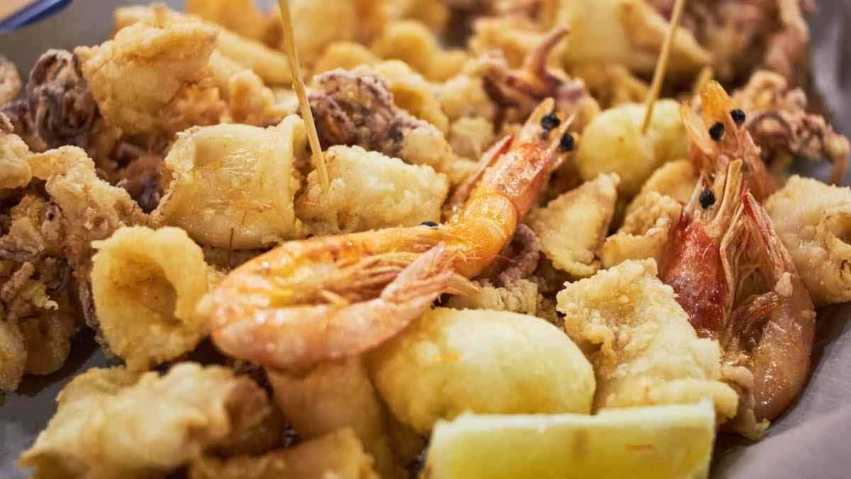 Poissons frits irréprochables