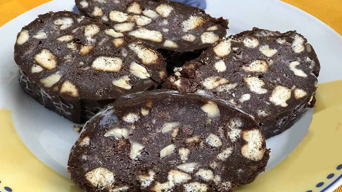 salame de chocolat sans œufs