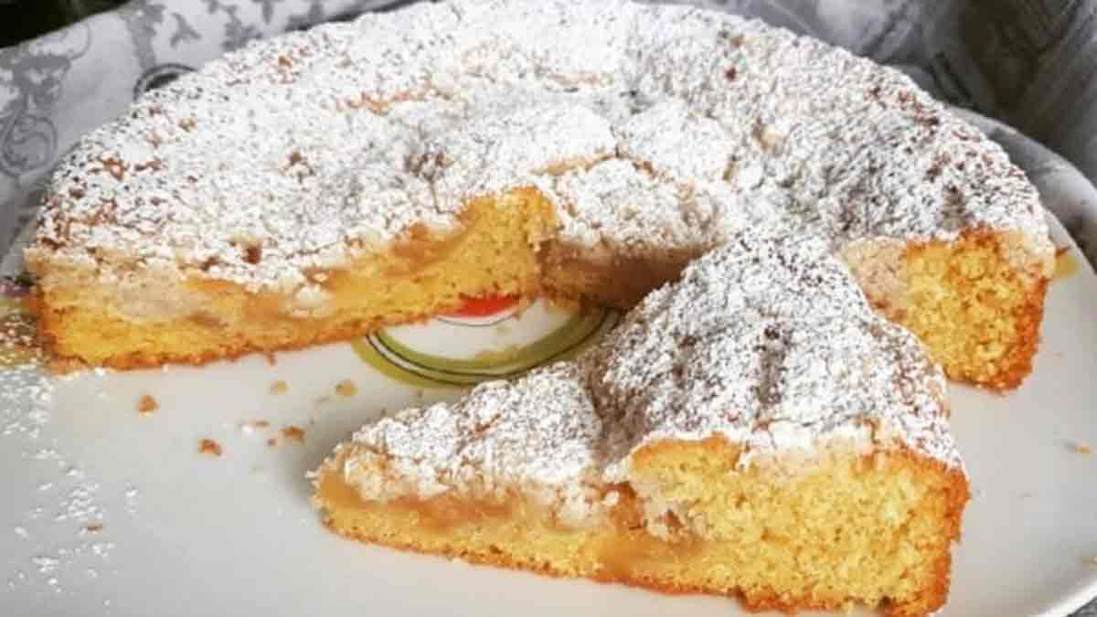 tarte au cœur de pomme
