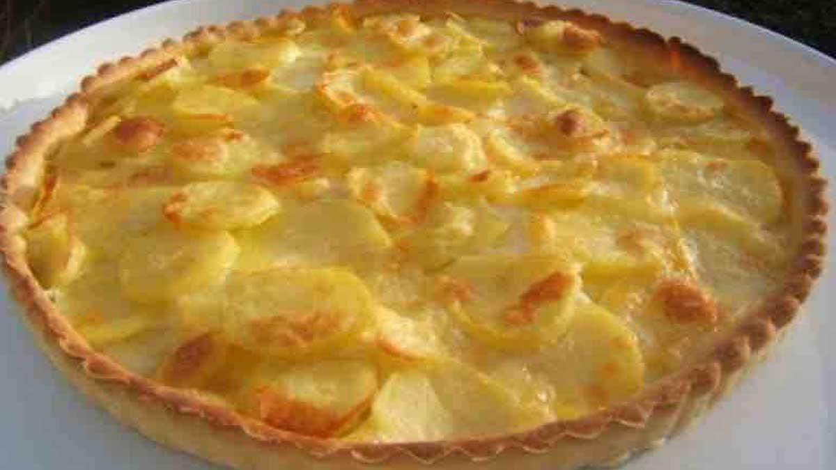 tarte pommes de terre et reblochon