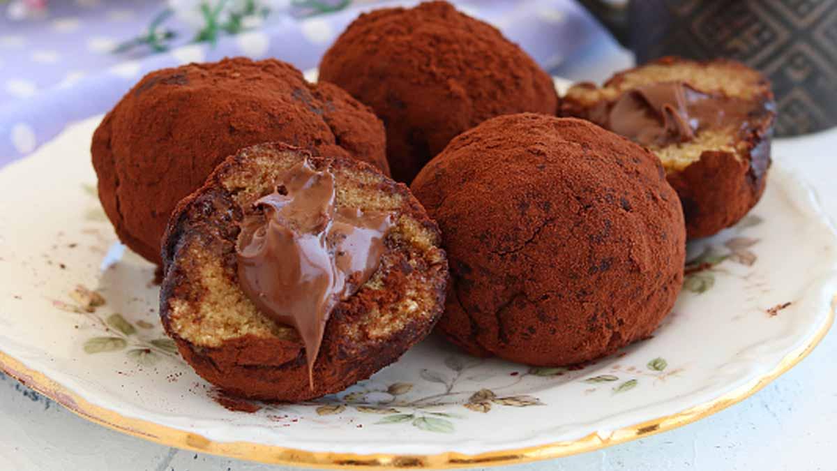 truffes au tiramisu et nutella