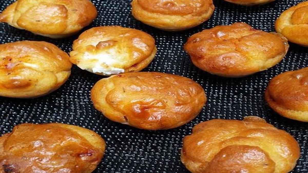 Appétissants muffins chorizo et feta