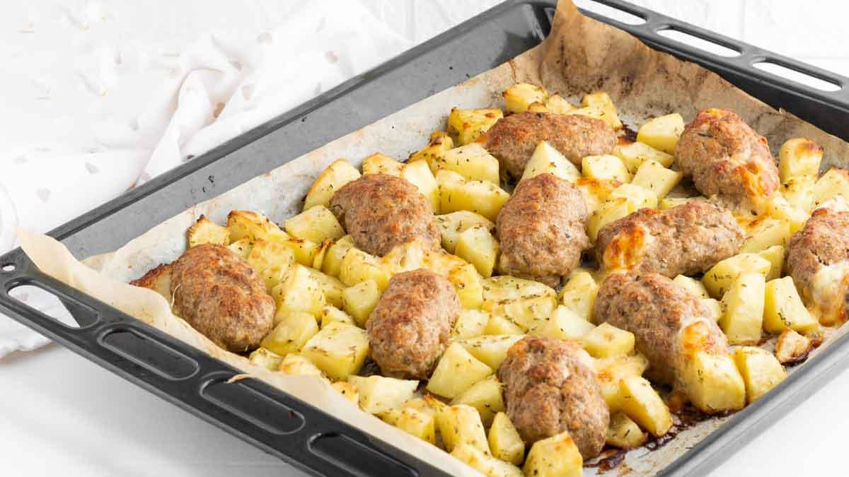 Boulettes de viande avec pommes de terre
